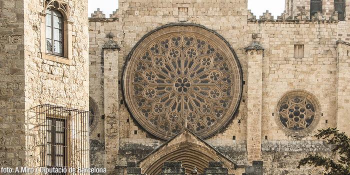 Rosetón Del Monasterio De Sant Cugat